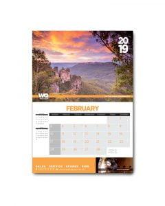 Weild Quip 2019 Calendar inside
